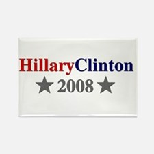 ::: Hillary Clinton - Simple ::: Rectangle Magnet