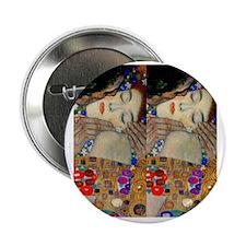 """Klimt Kiss FF 2.25"""" Button"""