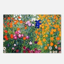 Klimt Flowers Beach Postcards (Package of 8)