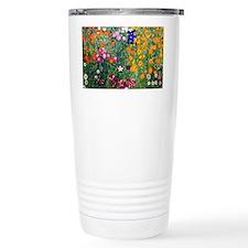 Klimt Flowers Clutch Travel Coffee Mug