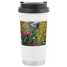 Klimt Flowers Clutch Travel Coffee Mug