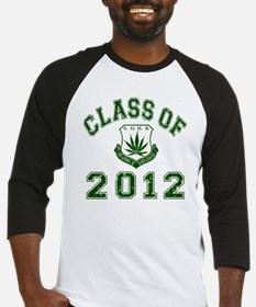 CO2012 SOHK Weed Green Distressed Baseball Jersey