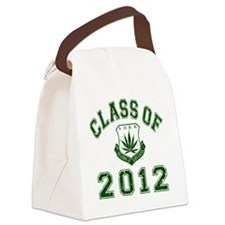 CO2012 SOHK Weed Green Distressed Canvas Lunch Bag
