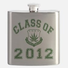 CO2012 SOHK Weed Green Distressed Flask