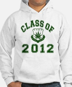 CO2012 SOHK Weed Green Distresse Hoodie