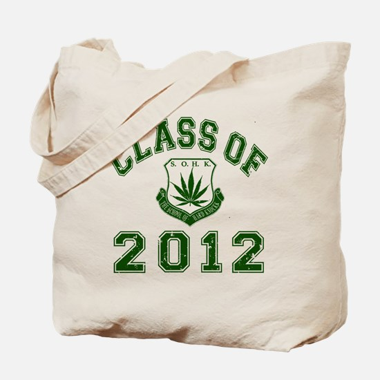 CO2012 SOHK Weed Green Distressed Tote Bag