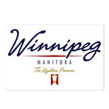 Winnipeg Script W Postcards (Package of 8)