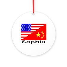 Sophia Flags Ornament (Round)