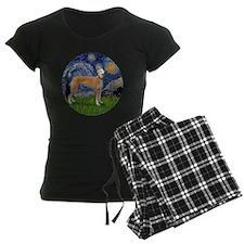 R-Starry-Greyhound (M-stand) Pajamas