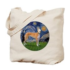 R-Starry-Greyhound (M-stand)) Tote Bag