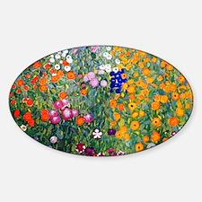 Klimt Flowers Toiletry Decal