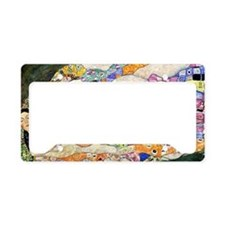 Klimt Life Toiletry License Plate Holder