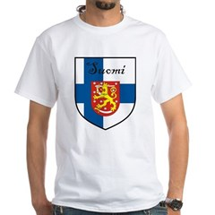 Suomi Flag Crest Shield Shirt