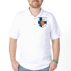Suomi Flag Crest Shield T-Shirt
