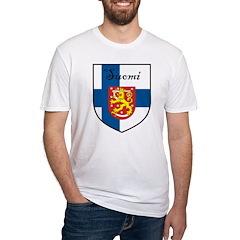 Suomi Flag Crest Shield Shirt