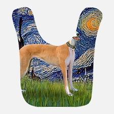 Square-Starry-Greyhound Music-stand Bib