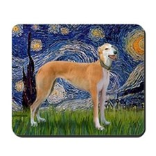 Starry - Greynound (M) Mousepad