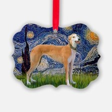 Starry - Greynound (M) Ornament
