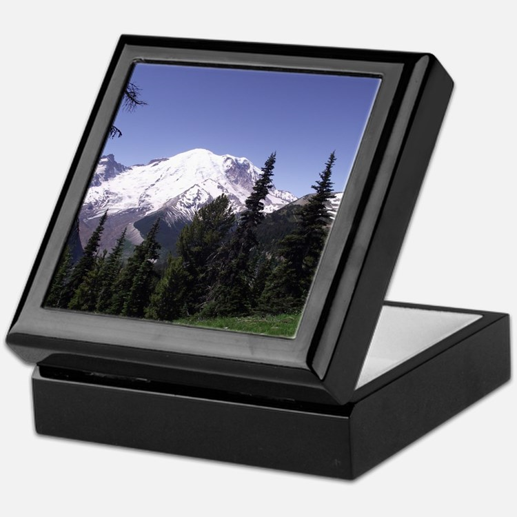 Mt. Rainier Keepsake Box