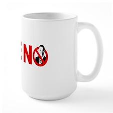 vote bumpersticker Mug