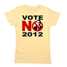 vote no 2012 Girl's Tee