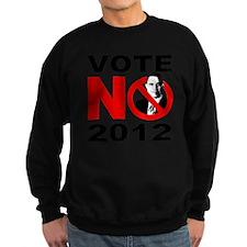 vote no 2012 Sweatshirt