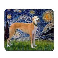Starry MP - Greynound (M) Mousepad
