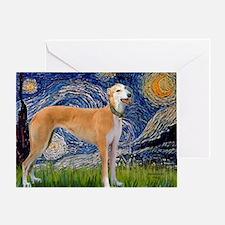 Starry MP - Greynound (M) Greeting Card