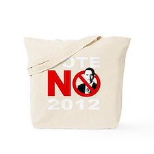 vote no 2012(blk) Tote Bag