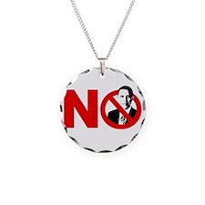 vote no 2012(blk) Necklace