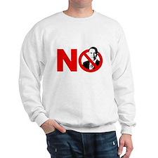 vote no 2012(blk) Sweatshirt
