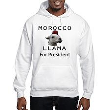 Morocco LLama for President no w Hoodie