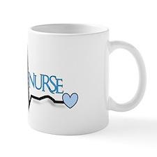 Ortho Nurse QRS blue Mug