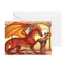 valariansagadragon16x20product Greeting Card