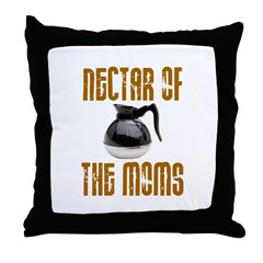 Nectar of the Moms Throw Pillow