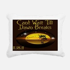 Purse Dawn Breaks Rectangular Canvas Pillow