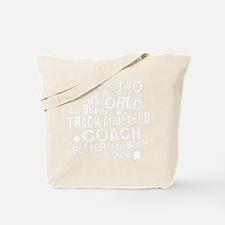 trackandfieldwhite Tote Bag
