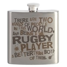 rugbyplayerbrown Flask