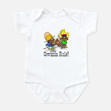 Cowkids Rule! Pals Infant Bodysuit