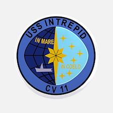 "CV-11 USS INTREPID Multi-Purpose Aircr 3.5"" Button"