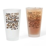 Volleyball coach gifts Pint Glasses