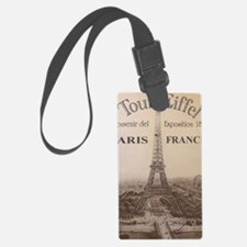 EIFFELkindlesleevetemplate Luggage Tag