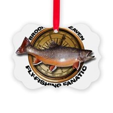 Brook Trout Fly-fishing Ornament