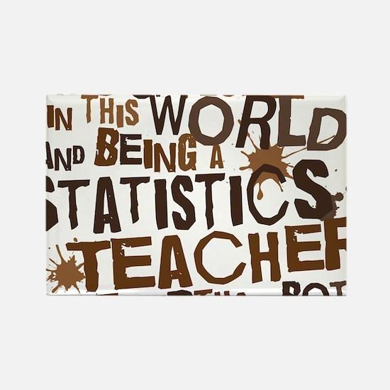 statisticsteacherbrown Rectangle Magnet