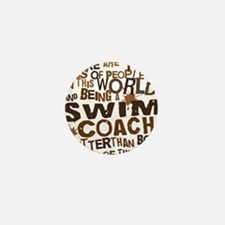 swimcoachbrown Mini Button
