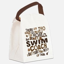 swimcoachbrown Canvas Lunch Bag