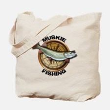 Muskie Musky Tote Bag