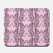 PinkHopeBttflyPPLaptop Mousepad
