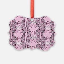 PinkHopeBttflyPPLaptop Ornament
