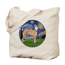 R-Starry-Greyhound (M-stand))-BIG Tote Bag
